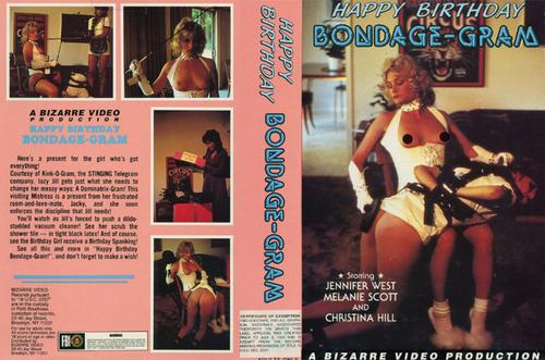 Happy Birthday Bondage-Gram | Kinky Porno BDSM Fetish Video ...