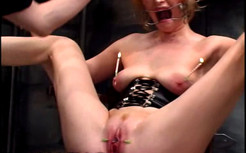 Pussy stretching water balloon tortures 11